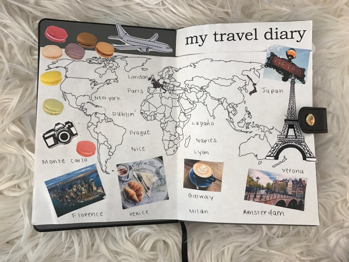 DIY Travel Diary