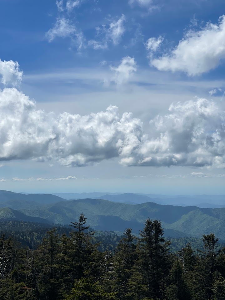 The Great Smoky Mountains,Tennessee
